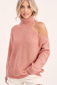 LUNA SWEATER- PINK