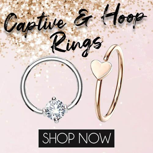 Captive Rings & Hoops