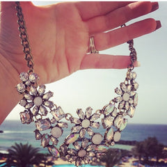cinderella statement necklace