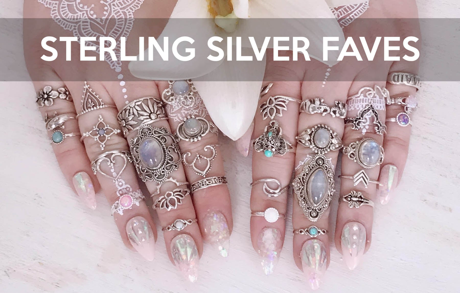 SHOP STERLING SILVER RINGS