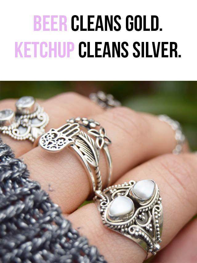 clean your jewellery