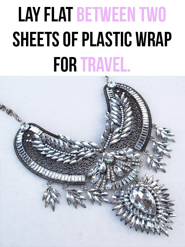 travelling with jewellery
