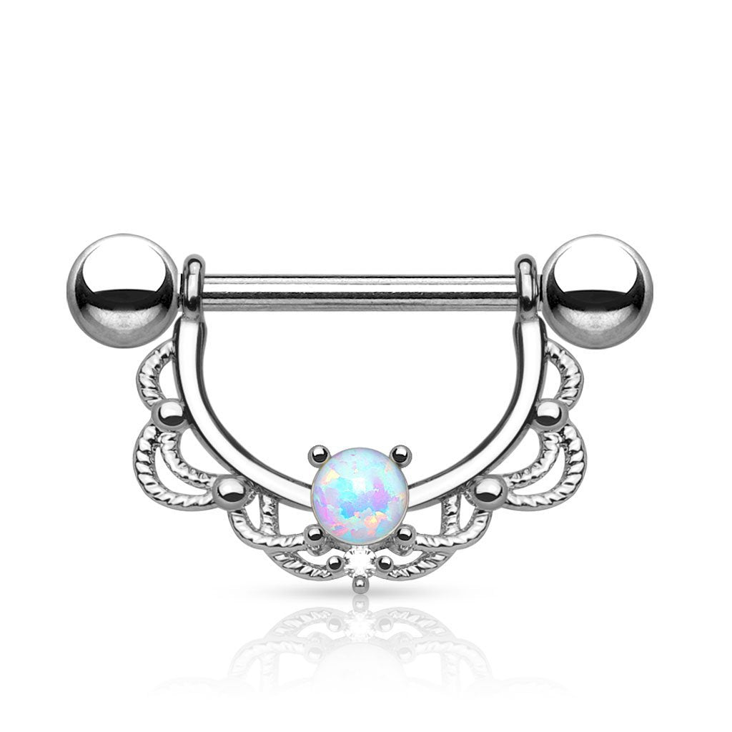 Opal Dreams Nipple Ring