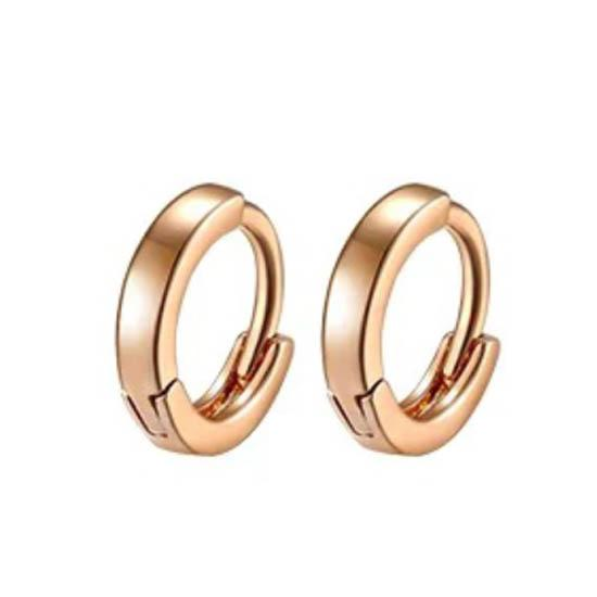 18Kt Gold Plated Huggie Hoop Earrings