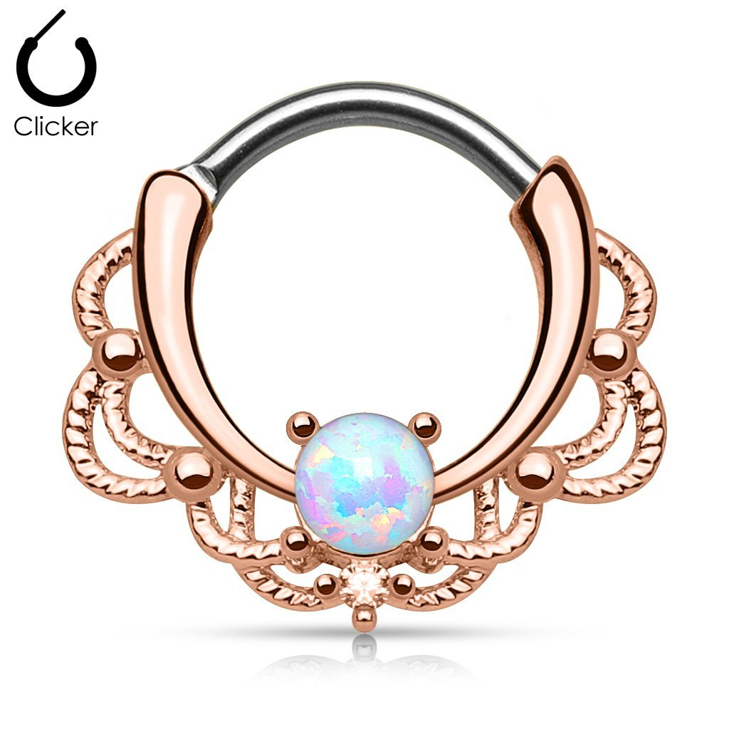 Elysium Septum Ring Rose Gold