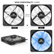 Load image into Gallery viewer, PC Cooling Fan GC-F006 (Pack of 3)