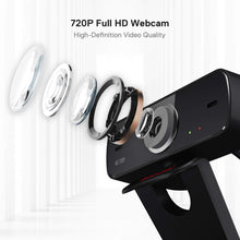 Load image into Gallery viewer, FOBOS GW600 720P Webcam with Built-in Dual Microphone
