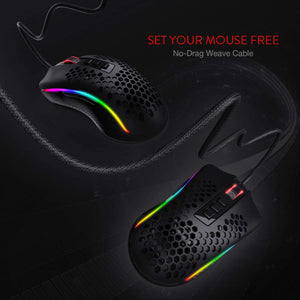 Storm M808 RGB- No drag Weave Cable
