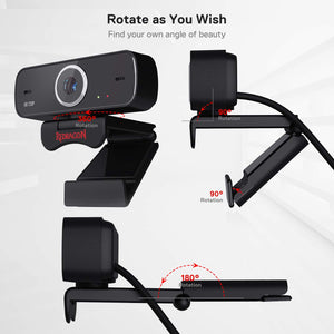 FOBOS GW600 720P Webcam with Built-in Dual Microphone