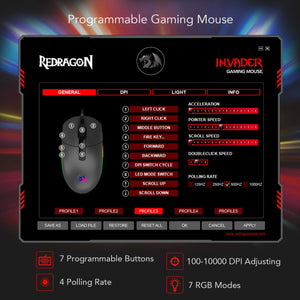 INVADER M719 Gaming Mouse