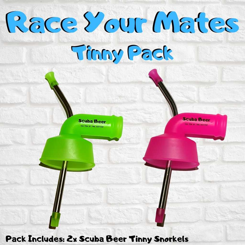 Scuba Beer™ Race Your Mates Tinny Pack - Scuba Beer Aussie Beer Snorkels