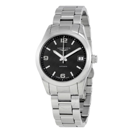 Longines Conquest Black Dial Automatic Ladies Watch