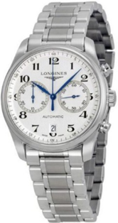 Longines Master Collection Silver Dial Stainless Steel Mens Watch