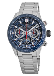 TAG Heuer Carrera Calibre 02..Automatic Chronograph 100 M 43 mm  Mens Watch