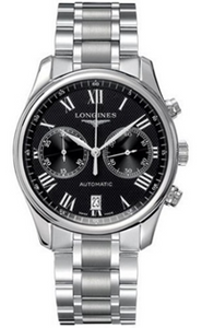 Longines Master Collection Automatic Chronograph Stainless Steel Mens Watch