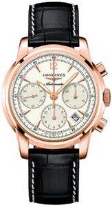 Longines Saint Imier Chronograph 41 mm Rose Gold  Mens Watch