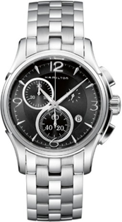 Hamilton Jazzmaster ClaStainless Steelic Black Dial Stainless Steel  Mens Watch