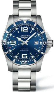 Longines Hydroconquest Automatic Blue Dial Stainless Steel  Mens Watch