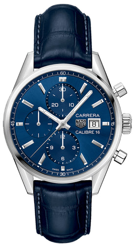 TAG Heuer Carrera Calibre 16 Automatic Chronograph 100 M 41 mm  Mens Watch