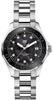 TAG Heuer Aquaracer Quartz 300 M 35 mm Black Ceramic Bezel / Black Mother-Of-Pearl Dial  Mens Watch