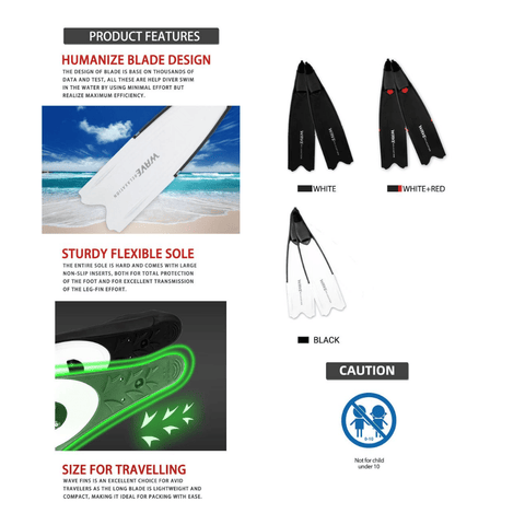 free diving flippers