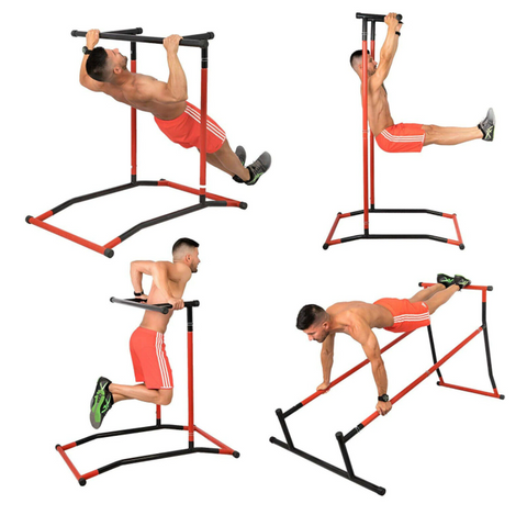 portable pull up dip station