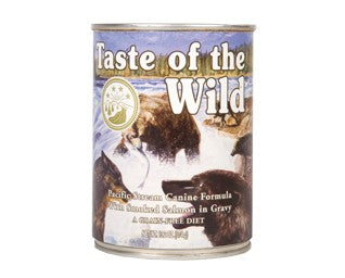 Taste of the Wild Pacific stream lax í sósu 390g