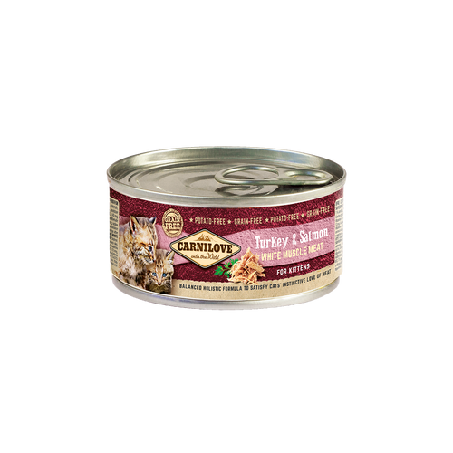Carnilove Cat dós Turkey & Salmon Kittens 100g