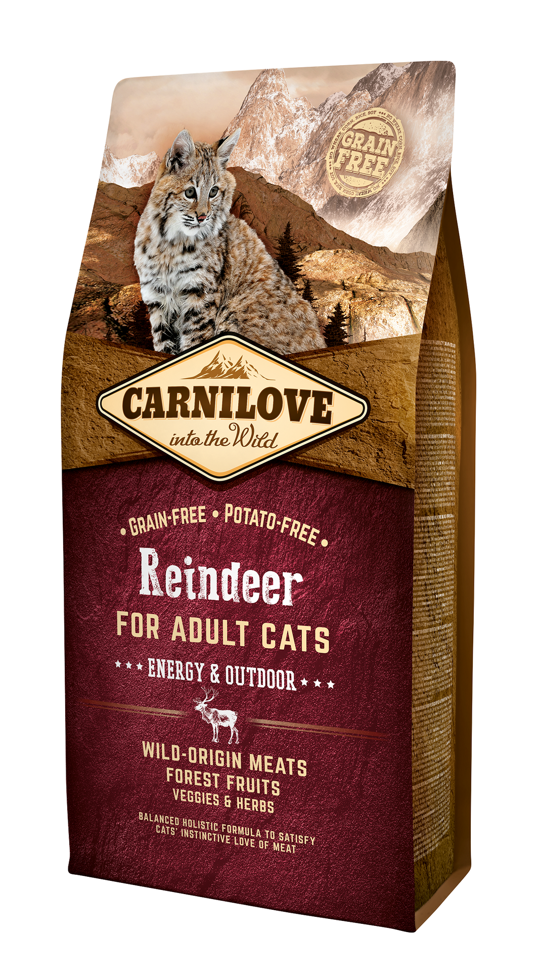 Carnilove Cat Reindeer Energy & Outdoor 6kg