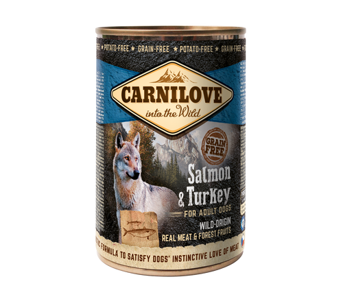Carnilove dós Salmon & Turkey 400g