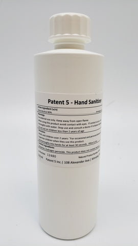 Patent 5 Hand Sanitizer
