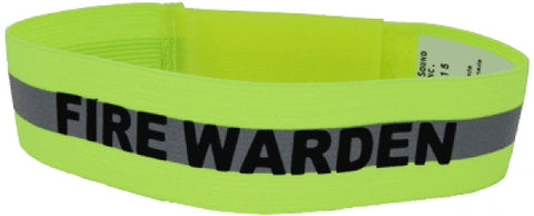 Fire Warden Arm Band