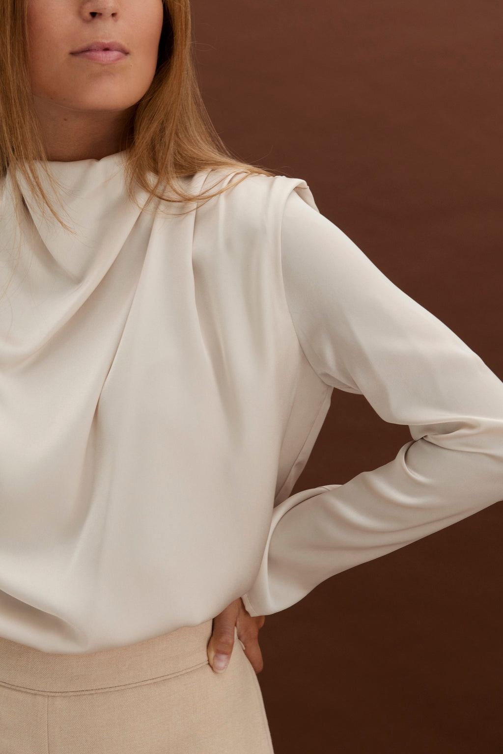 Tulum blouse - Bone