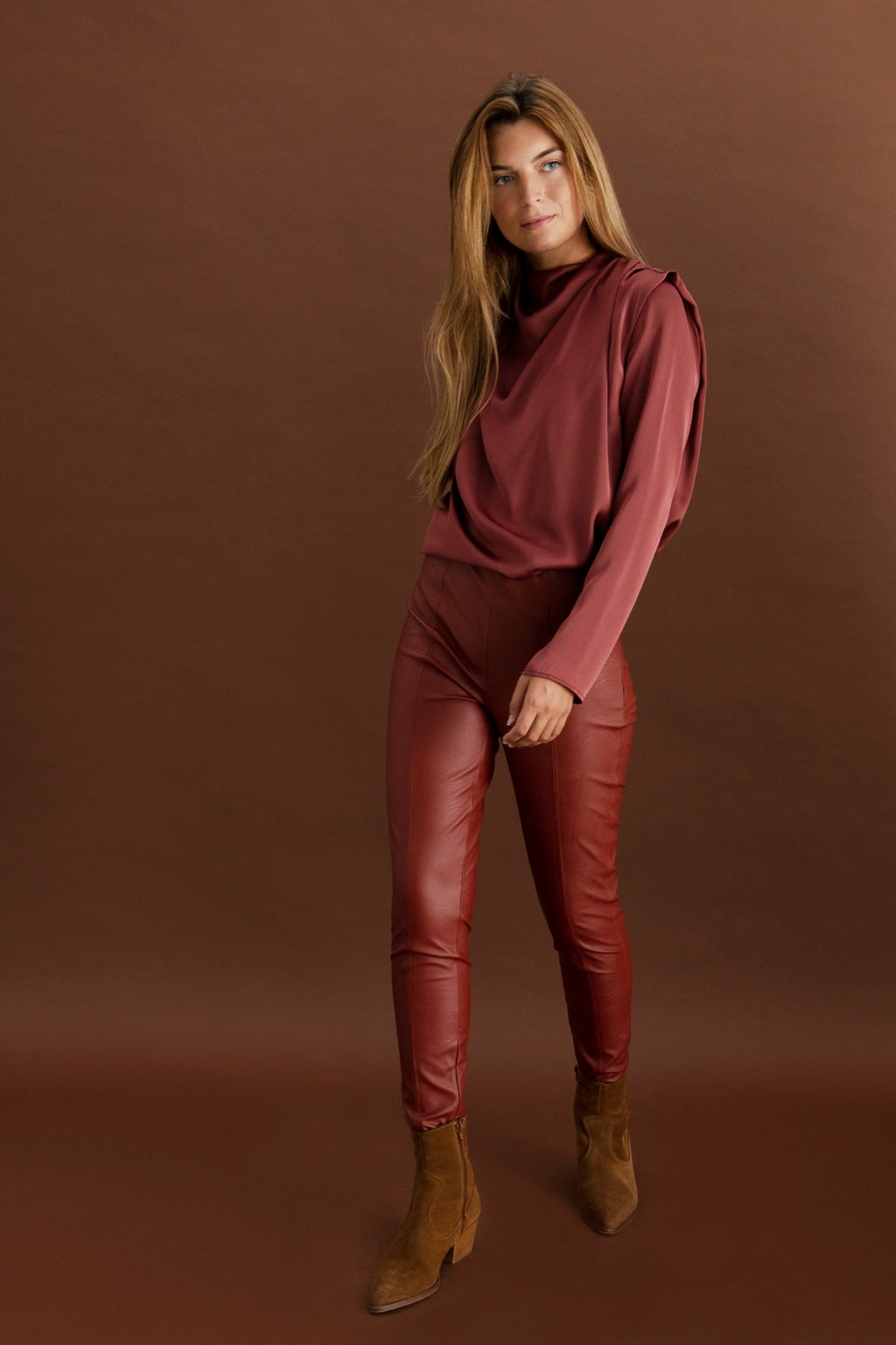 Pavillon trousers - Dust rose