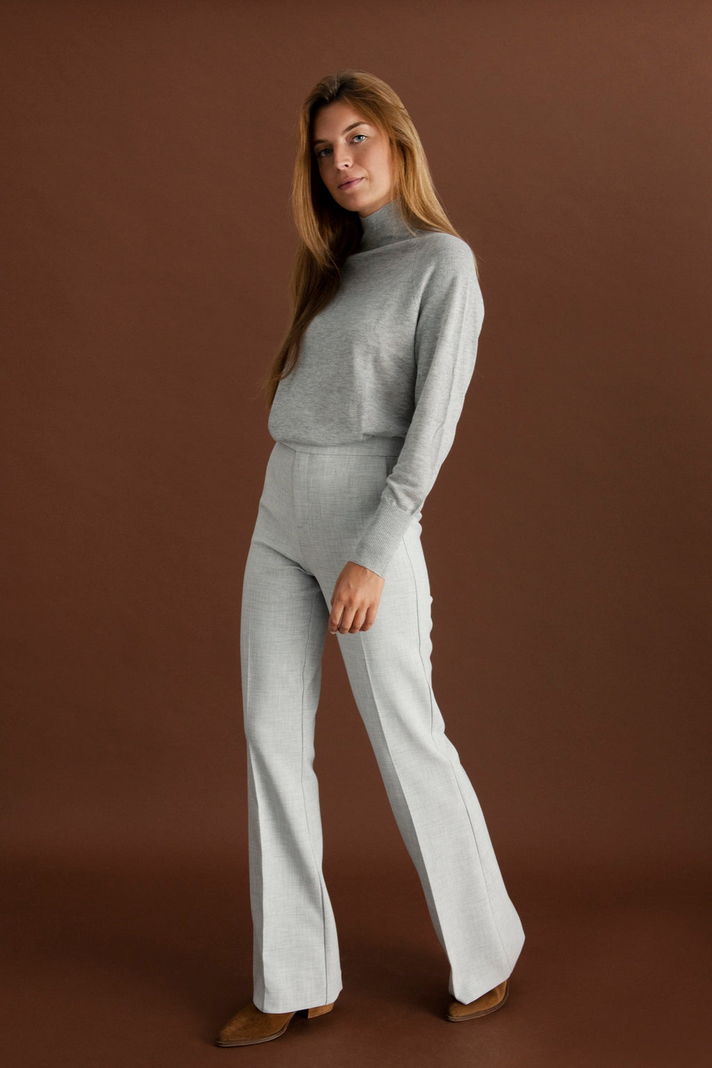Laure trousers - Light grey