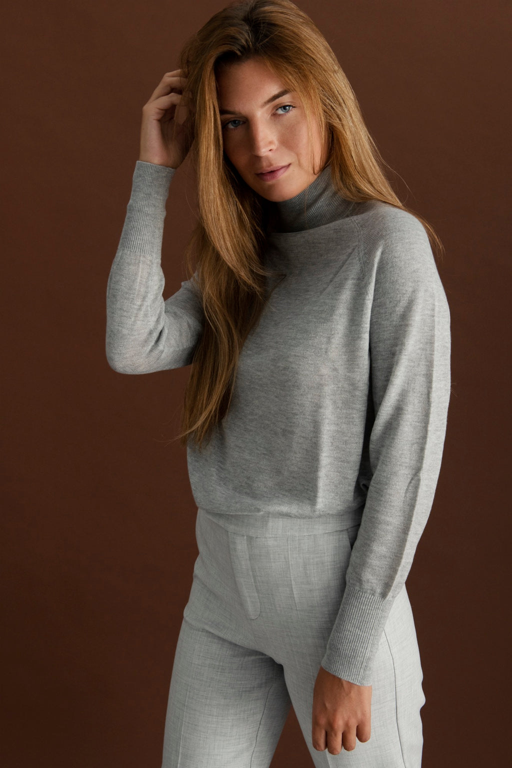 Cecile pullover - Light grey