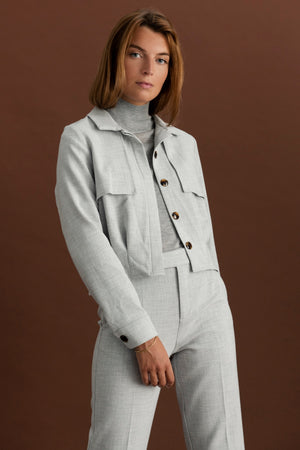 Martinez jacket - Light grey