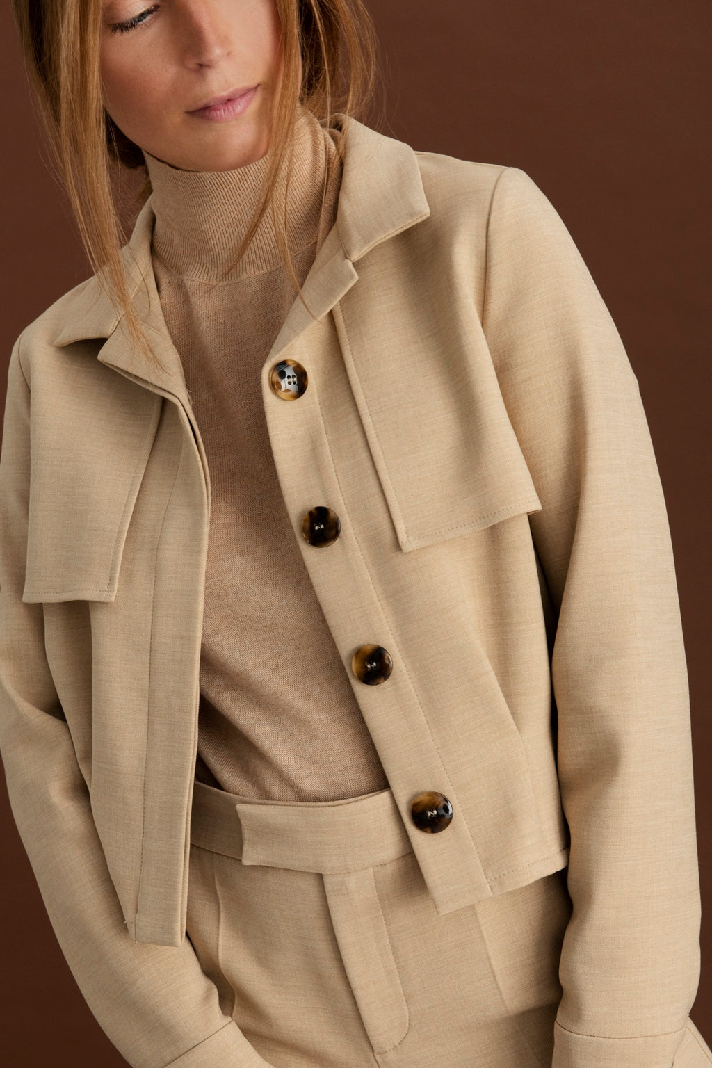 Martinez jacket - Beige