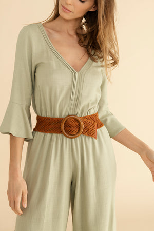 Sam jumpsuit - Beachy Khaki