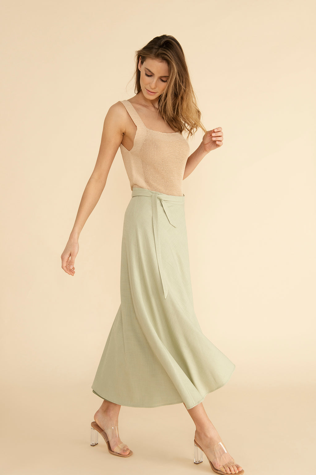 Jane skirt - Beachy Khaki