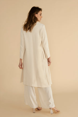 Riad coat - Ecru