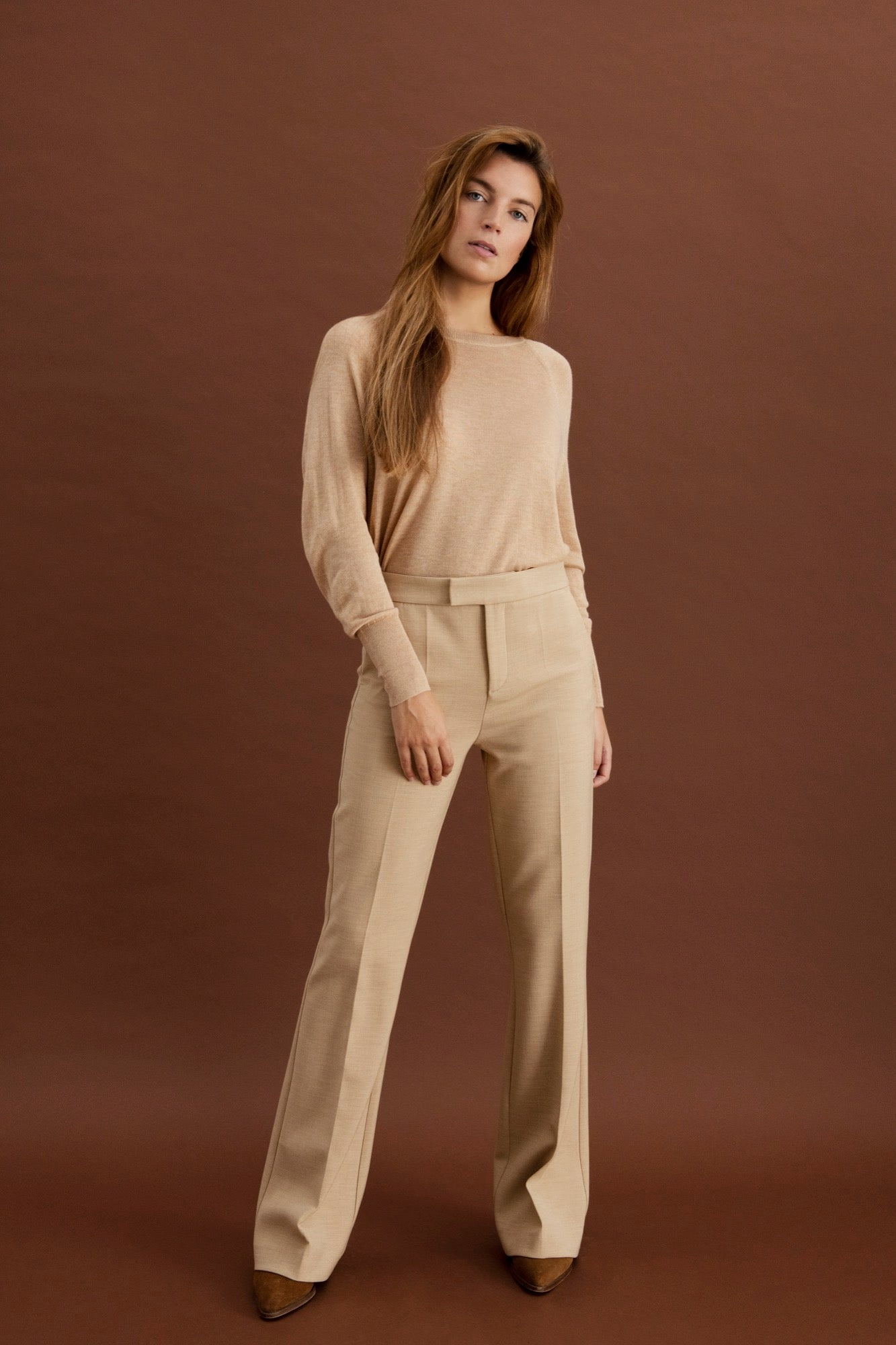 Laure trousers - Beige