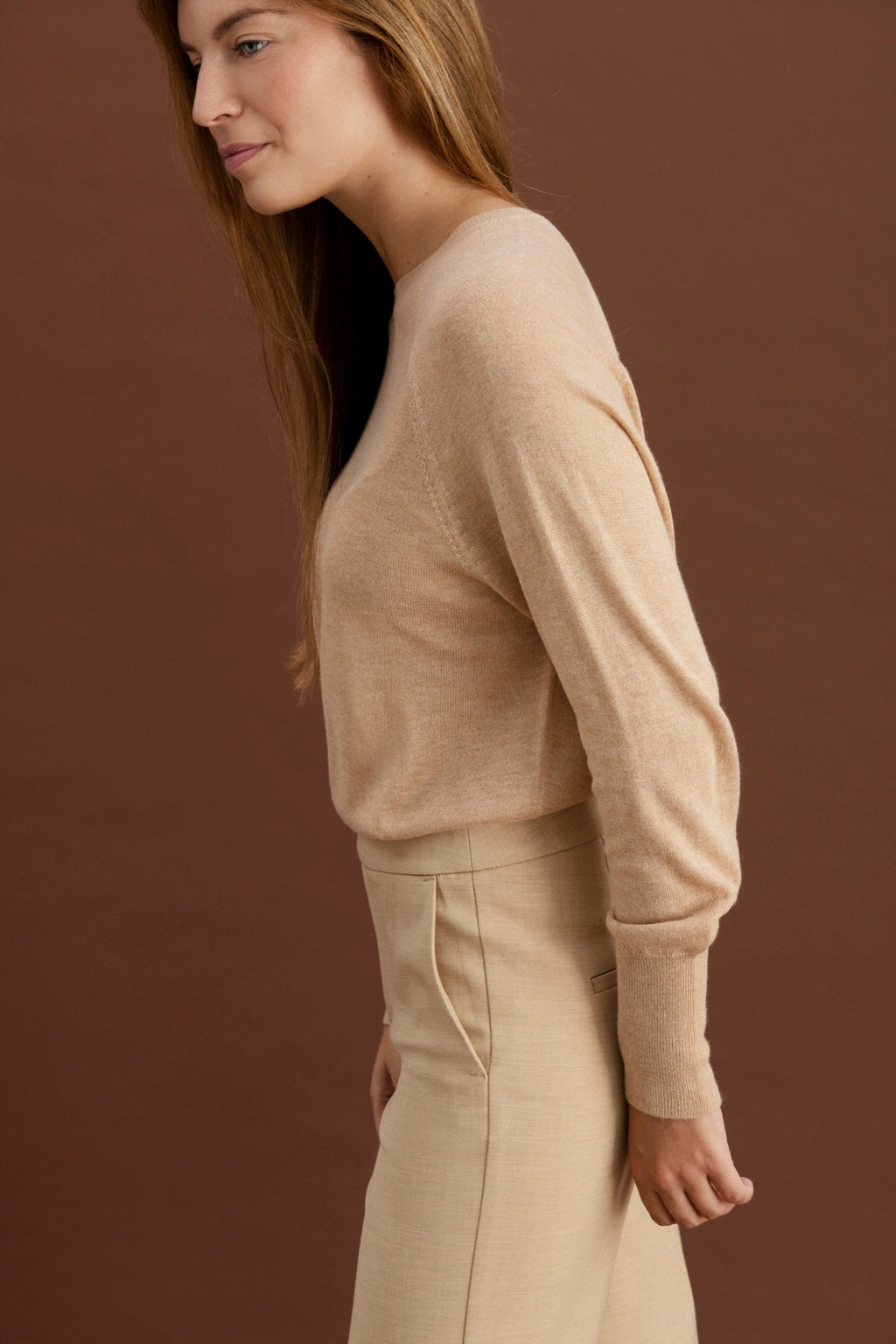 Lucie pullover - Camel