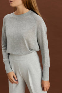 Lucie pullover - Light grey