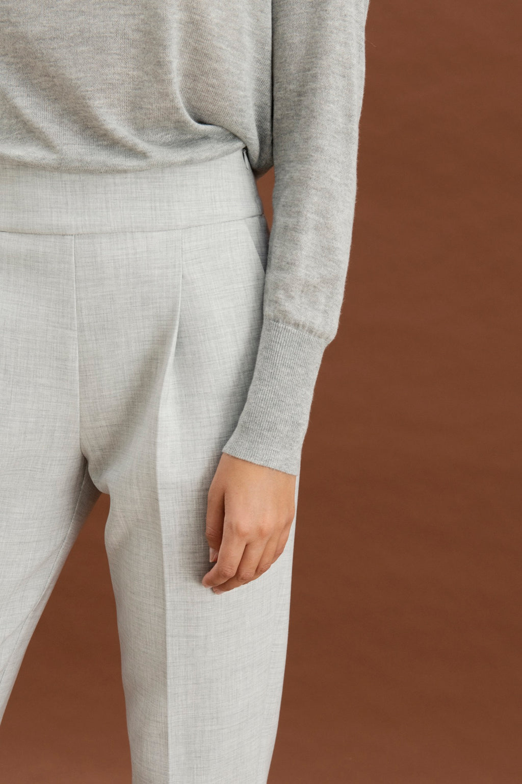 Bilbao trousers - Light grey