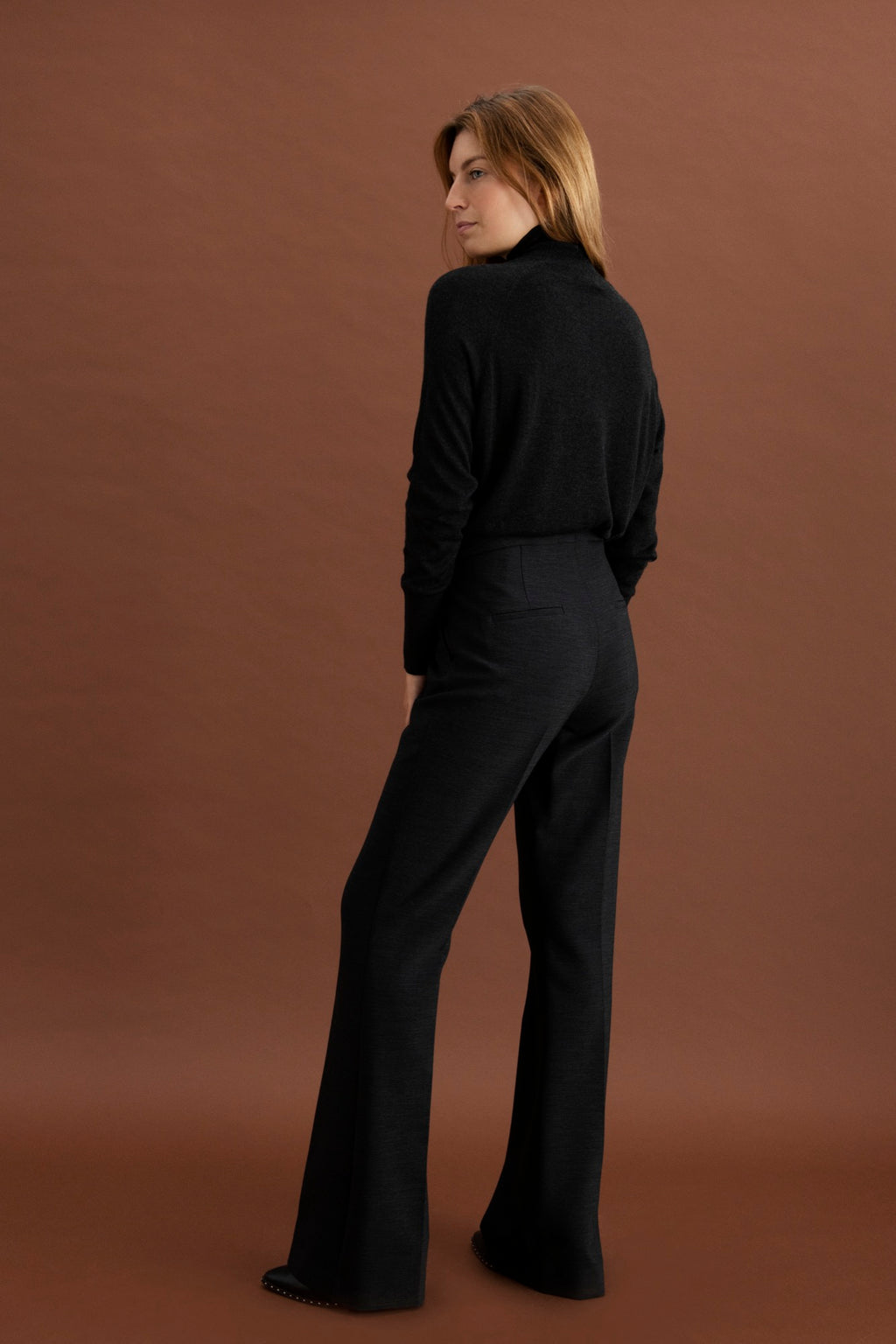 Laure trousers - Antracite