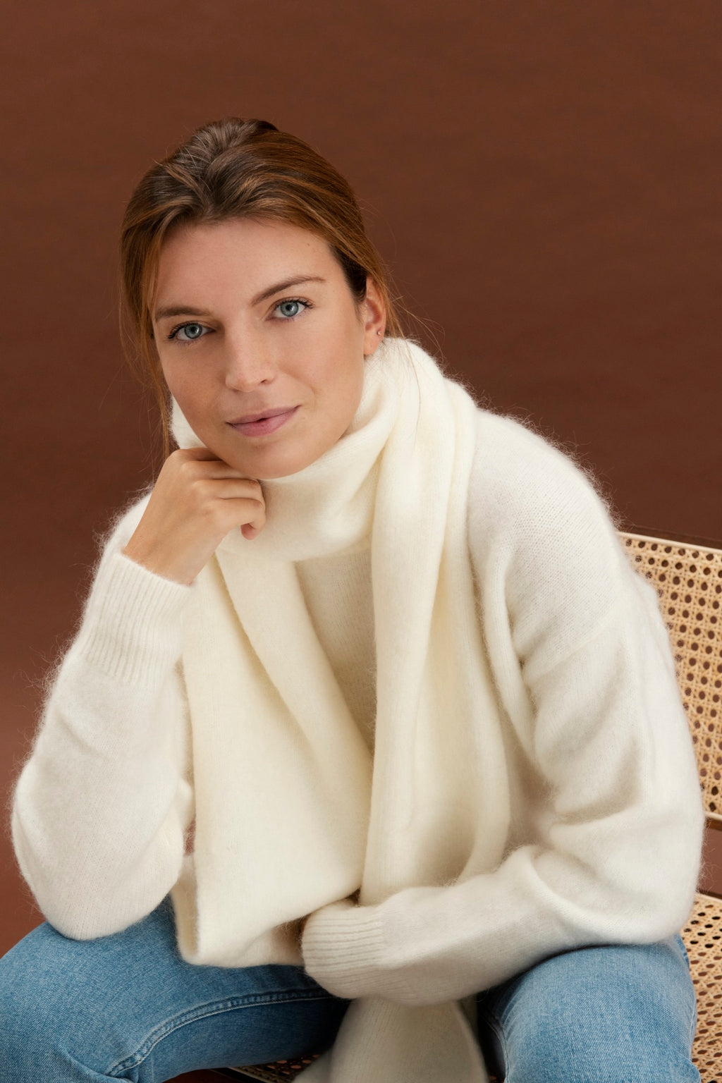 Ayla scarf - Off white
