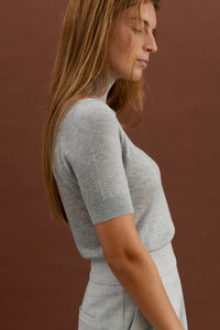 Cerine T-shirt - Light grey