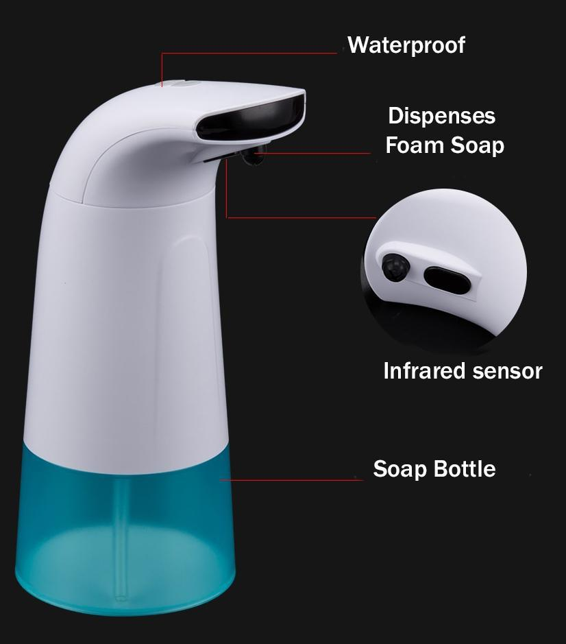 The Automatic Foam Soap Dispenser