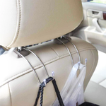 Stainless Steel Car Seat Hangers (2 Pcs)